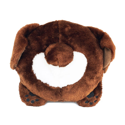 ZIPPY PAWS - Chocolate Lab Plush Squeaker Dog Toy