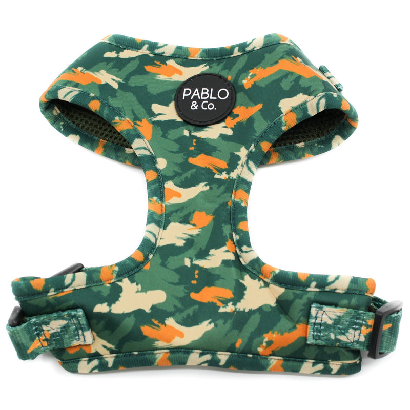 PABLO & CO - Camo Adjustable Dog Harness