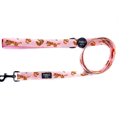 PABLO & CO - Pink Tigers Dog Leash