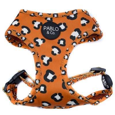 PABLO & CO - That Leopard Print Adjustable Dog Harness