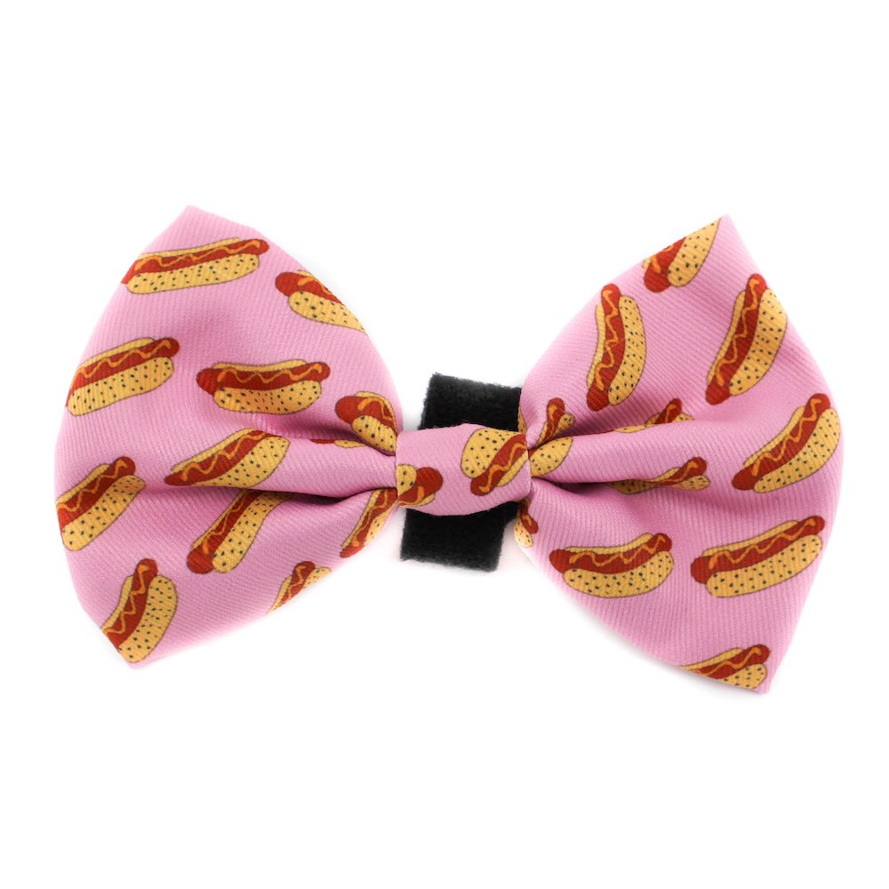 PABLO & CO - Pink Hot Dogs Bowtie