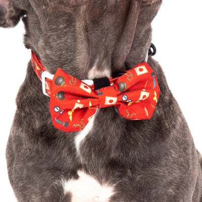 [LAST CHANCE] BIG & LITTLE DOGS - Harry Pupper Dog Collar & Bow Tie