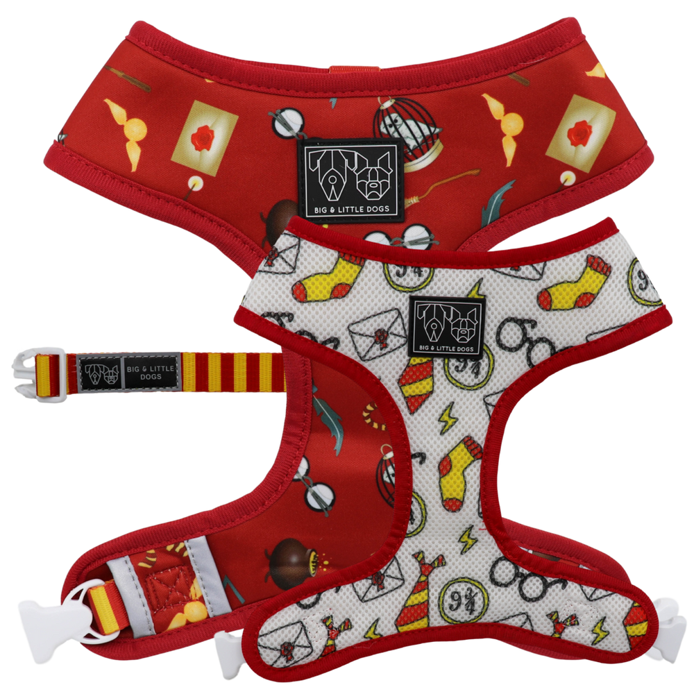 BIG & LITTLE DOGS - Harry Pupper Reversible Dog Harness