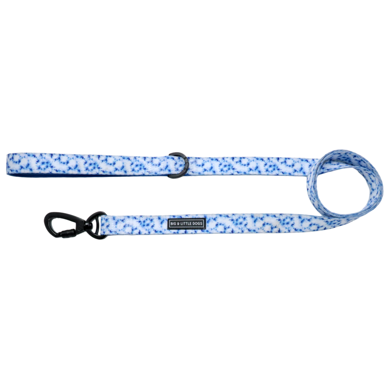 [LAST CHANCE] BIG & LITTLE DOGS - Tie Dye Blue Dog Leash