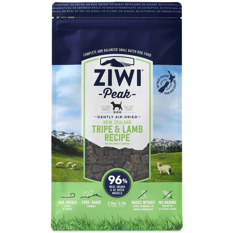 ZIWI PEAK - Air Dried Tripe & Lamb