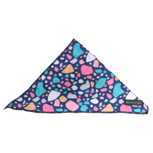 BIG & LITTLE DOGS - Trevi Terrazzo Dog Bandana