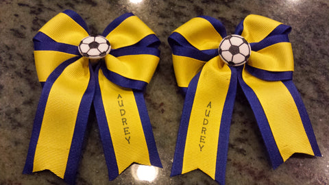 Personalized Team Ribbons