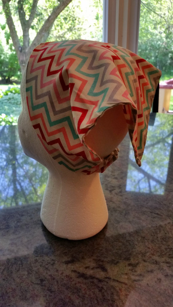 Multi-colored Chevron Bandana