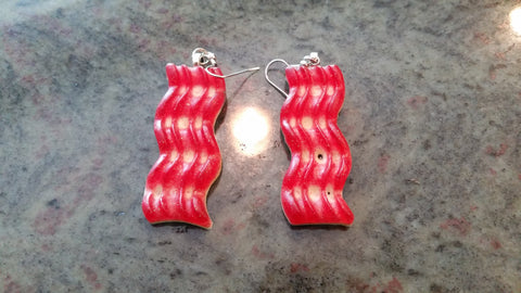 Bacon Earrings