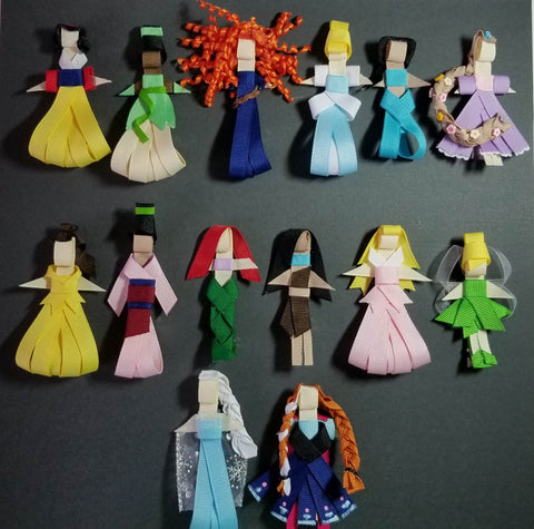 Princess Ribbon Sculptures