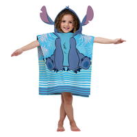 "23.6"" x 47.2"" Disney Hooded Poncho - Lilo & Stitch"
