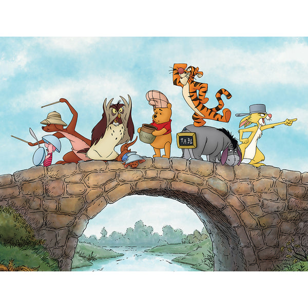 "Disney 4'3"" x 5'8"" Area Rugs - WTP BRIDGE SCENE"