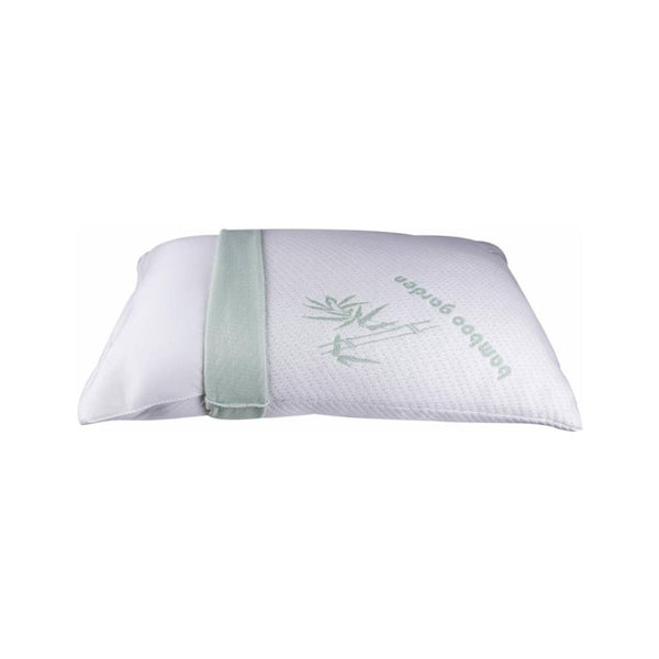 King Size Bamboo Memory Foam Pillow With Free Shipping, A Pillow Case With Zipper for Easy Machine Wash Maintenance