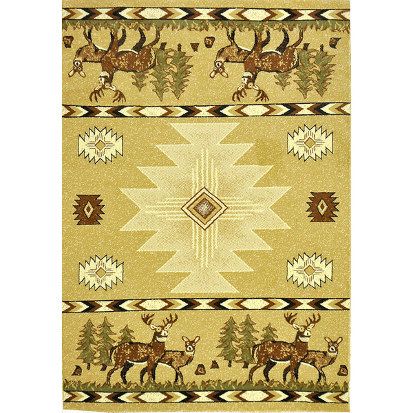 Cabin Collection CB-1 High Pile, High Density Area Rug