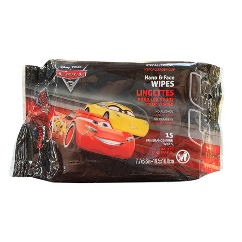 Disney Cars Hand and Face Wipes