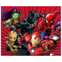 "Disney 4'3"" x 5'8"" Area Rugs-MCMP FULL ASSAULT"