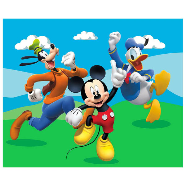 "Disney 4'3"" x 5'8"" Area Rugs-MMCH HAPPY PALS"