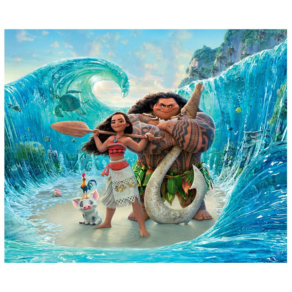"Disney 4'3"" x 5'8"" Area Rugs-MOANA OCEAN FRIENDS"