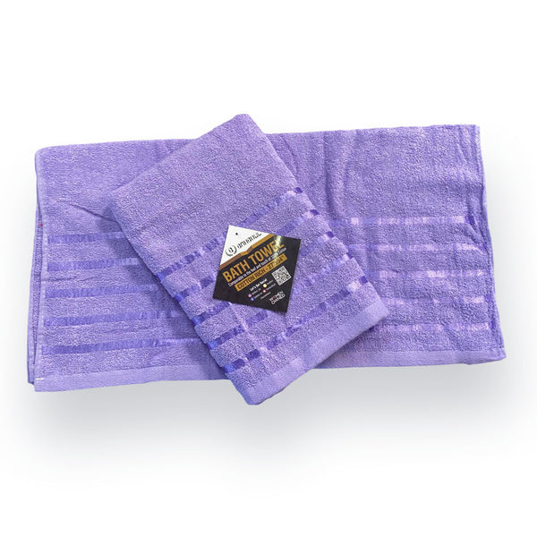 999 Foxy Voile 2PC Set Purple, Faux Sil Panels, Attached Voile Panels, Rod Pocket Panels