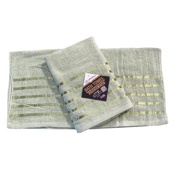 999 Foxy Voile 2PC Set Sage, Faux Sil Panels, Attached Voile Panels, Rod Pocket Panels