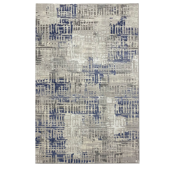 Vista 10 Grey Blue With Patchwork Style to Beautify Your Living Space
