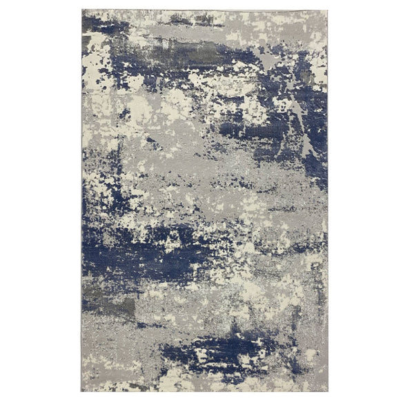 Vista 3 Grey Blue With Patchwork Style to Beautify Your Living Space