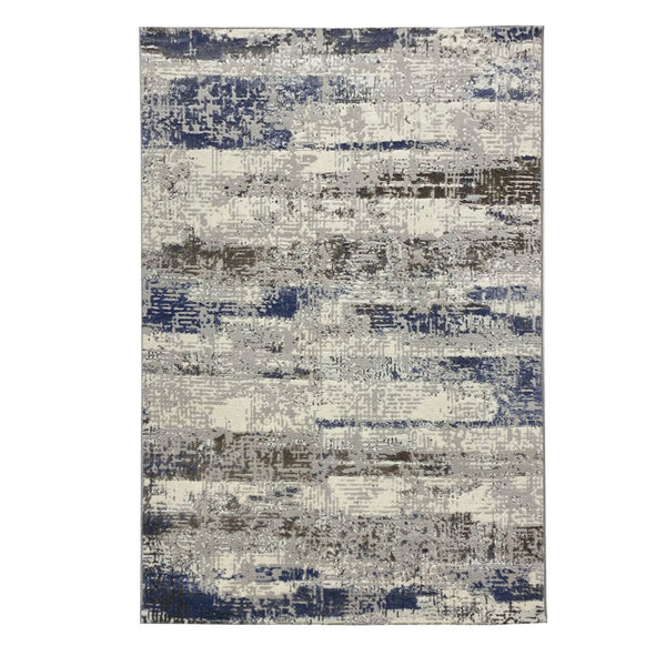 Vista 4 Grey Blue With Patchwork Style to Beautify Your Living Space