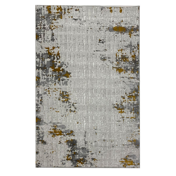 Vista 8 Grey Yellow With Patchwork Style to Beautify Your Living Space