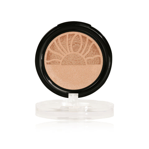 rise and shine metallic highlighter gold