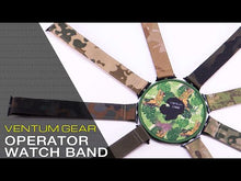 Load and play video in Gallery viewer, Operator Watch Band by Ventumgear - Coyote Brown