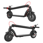 Folding design makes commuting and storing the Decent Electric Scooter X7 super easy - available now from electrictravels.co.uk