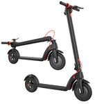 Get the Decent Electric Scooter X7 - available now from electrictravels.co.uk with FREE delivery and UK warranty. Great for offroad use. Single 350W Motor with LCD Display to show speed and remaining battery. Built-in cruise control with Front LED's for night riding.