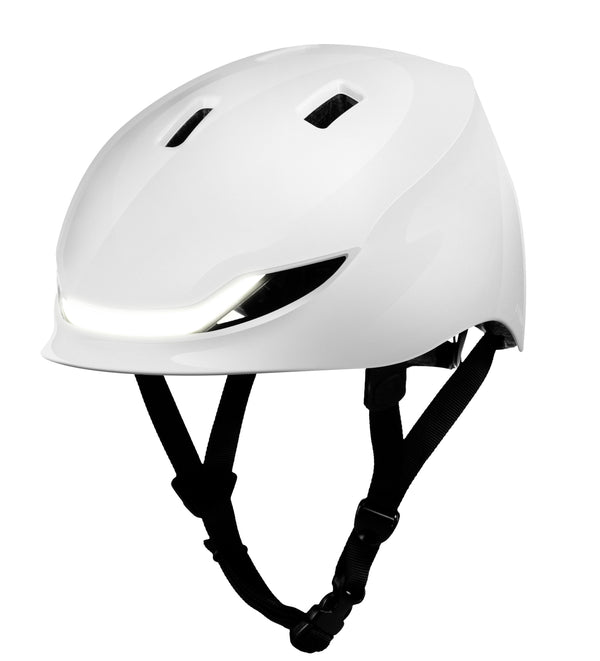 Lumos Matrix helmet - Polar White