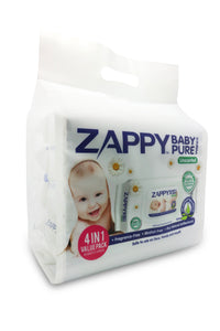 Zappy Pure 80S Baby Wipes (unscented)