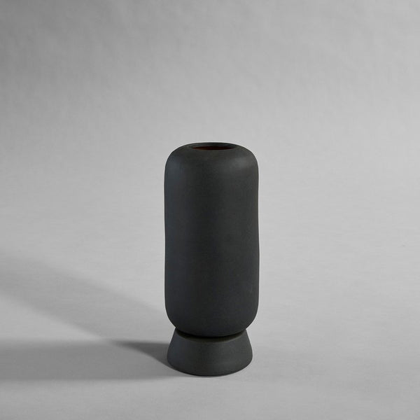 101 Copenhagen available online in North America, Canada, and USA at Studio Nordhaven - Kabin ceramic collection - Kabin Vase, Tall - Black