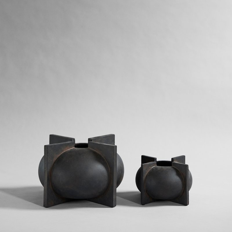 101 Copenhagen available online in North America, Canada, and USA at Studio Nordhaven - Kyoto Vase, Big - Coffee