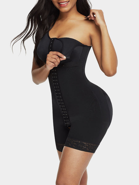Full Bodysuit Slimming Shaper Front Zipper