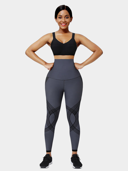 High Waisted Stretching Seamless Leggings