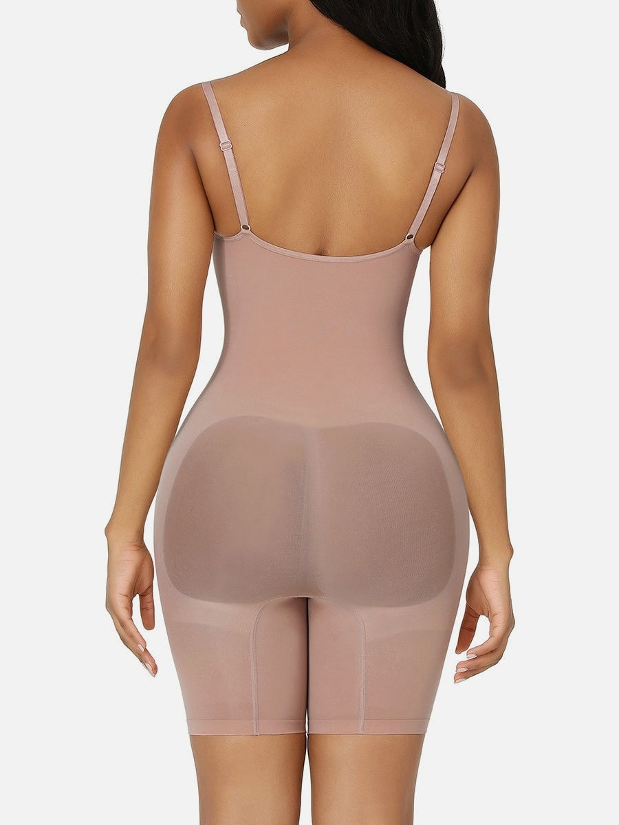 Nilit™ Mid-thigh Bodysuit Shaper Butt Lifter