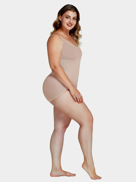 Plus Size Lycra® Shaping Bodysuit