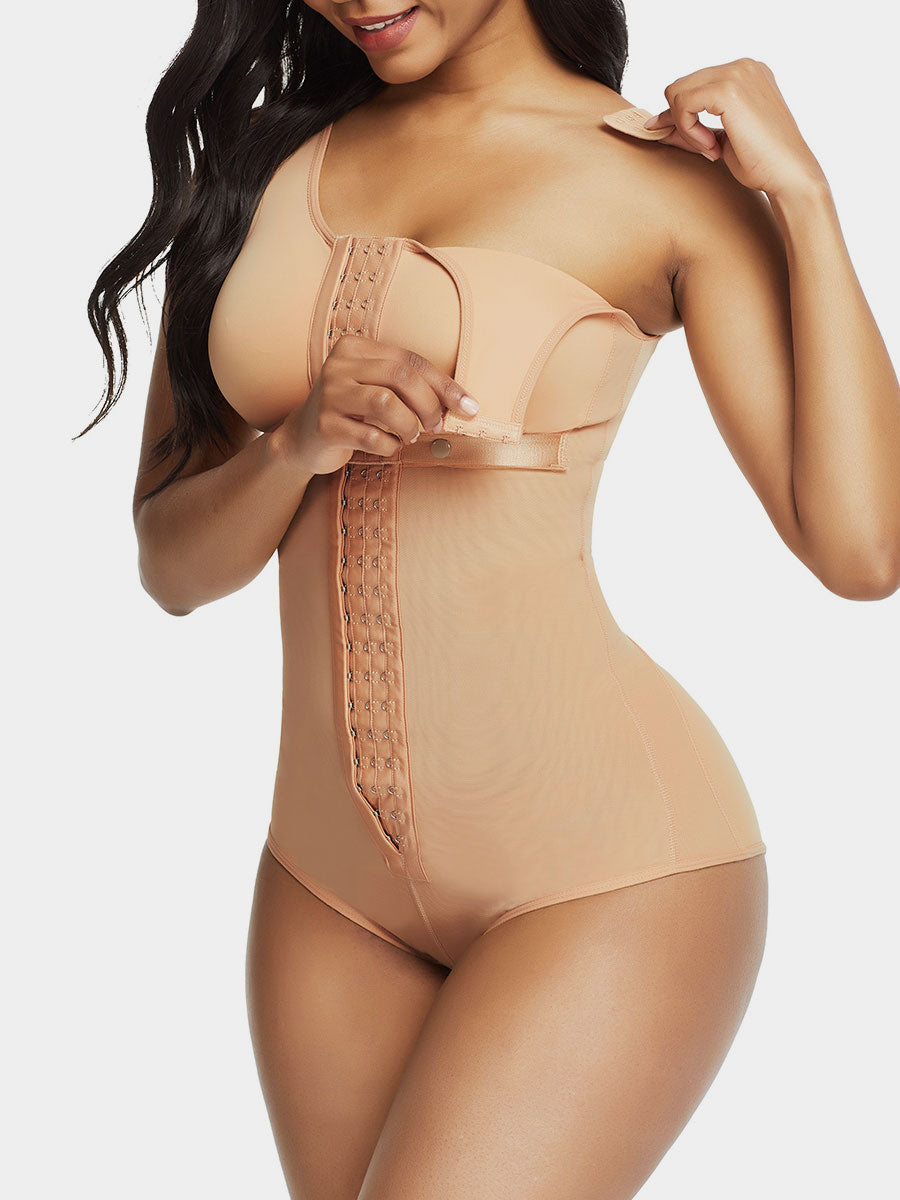 Post-Surgical Bodysuit Shaper with Bra