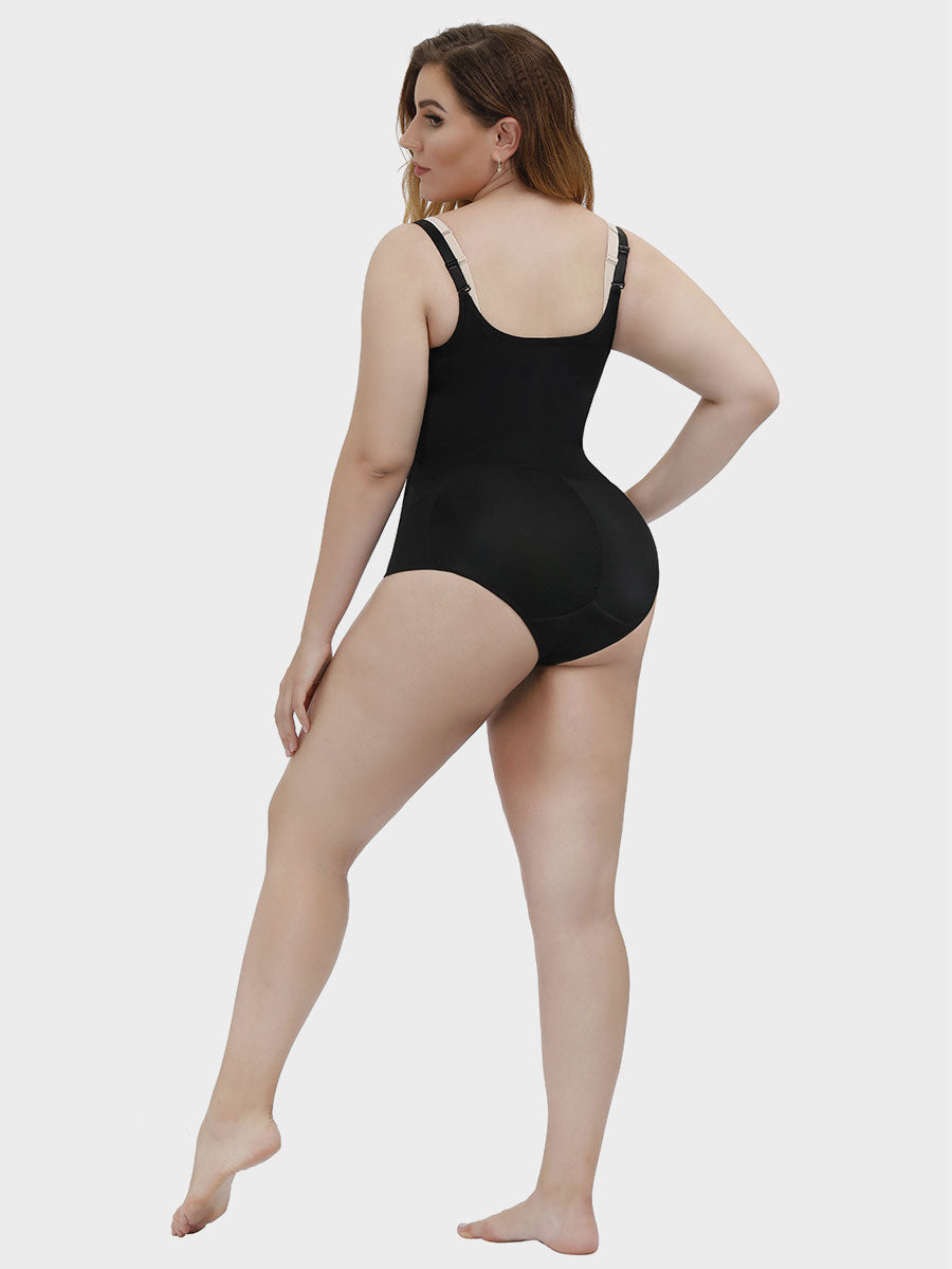 Zip Up Smooth Firm Control Full Body Shaper