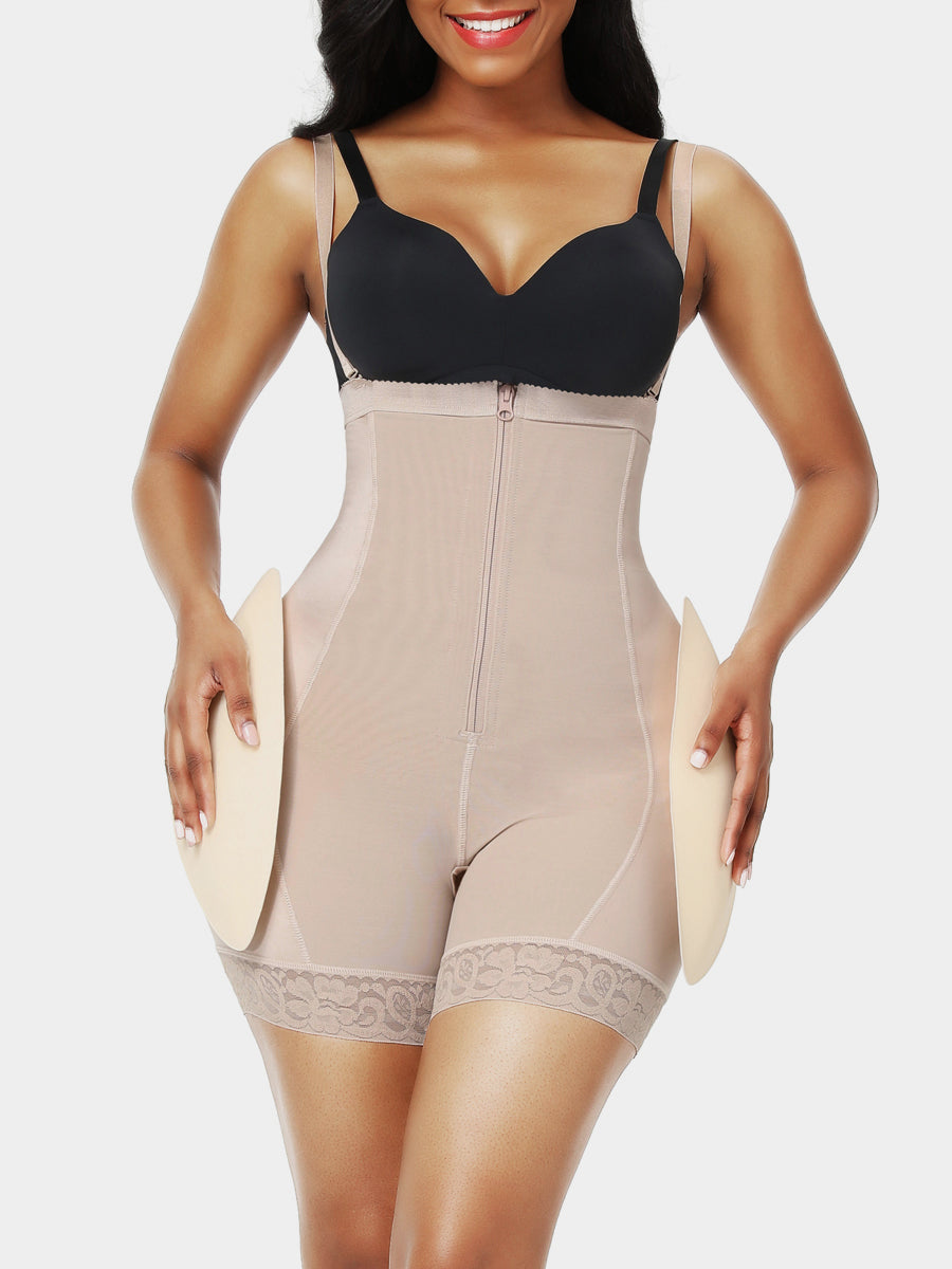 Hip Booster Enhancer Removable Pads Body Shaper