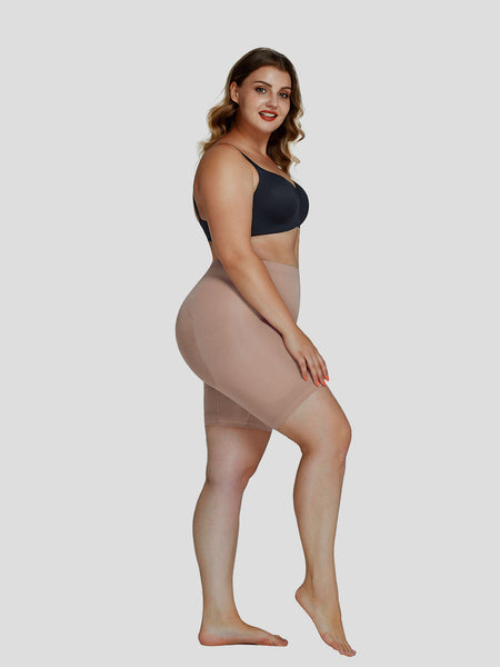 Nilit™ Plus Size Sculpting Short High Rise