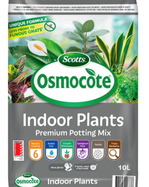 This potting mix is best used for a wide variety of indoor plants. Great mix for water holding and air flow to the roots. If you are thinking about potting up in size this will serve you well.  Product Size.  10litres