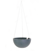 Greenery Australia's Hanging Brussels is a modern classic hanging basket made from recycled materials.Product Dimensions. Outside Diameter 27cm. Height 13cm.