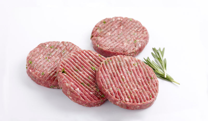 ZAC Original Beef Patties Pack - 4x120g