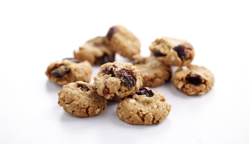 Oat Flake Raisin Drops