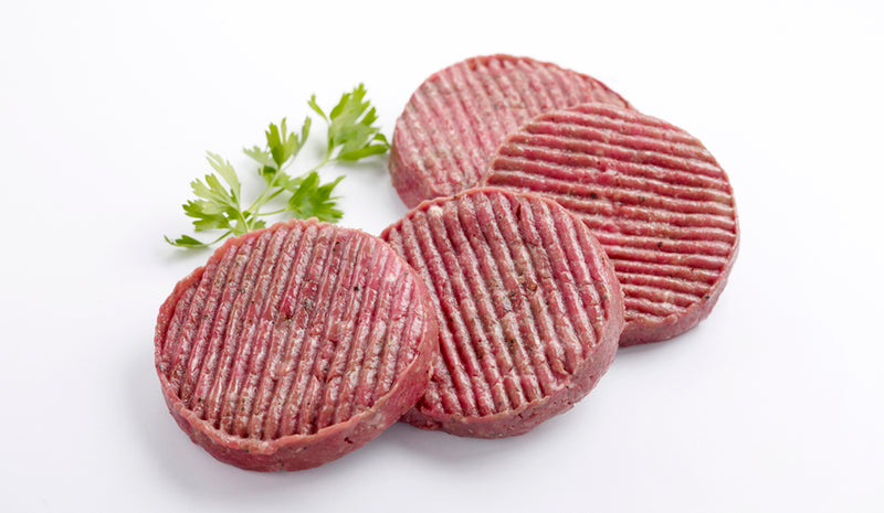 Low Fat Beef Patties Pack - 4x120g
