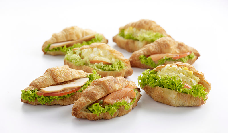 Mini Classic Croissant Sandwiches Party Pack - 15 pcs